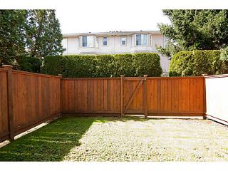"""Photo 19: 6 2420 PITT RIVER Road in Port Coquitlam: Mary Hill Townhouse for sale in """"PARKSIDE ESTATES"""" : MLS®# V1143548"""