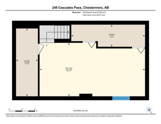 Photo 22: 248 Cascades Pass: Chestermere Row/Townhouse for sale : MLS®# A1096095