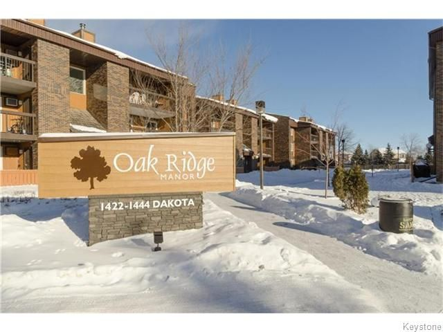 Photo 1: Photos: 1444 Dakota Street in WINNIPEG: St Vital Condominium for sale (South East Winnipeg)  : MLS®# 1601390