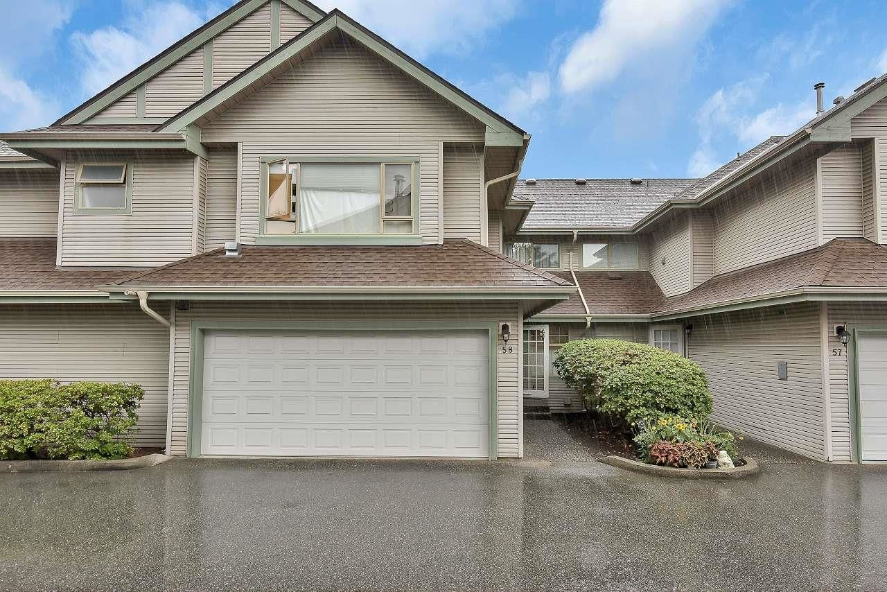 Main Photo: 58 1255 RIVERSIDE Drive in Port Coquitlam: Riverwood Townhouse for sale : MLS®# R2617553