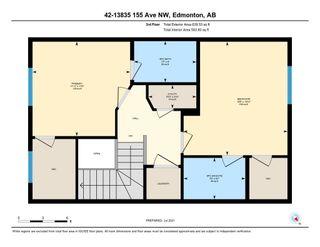 Photo 36: 42 13825 155 Avenue in Edmonton: Zone 27 Townhouse for sale : MLS®# E4254174
