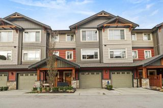 "Photo 1: 59 11305 240 Street in Maple Ridge: Cottonwood MR Townhouse for sale in ""MAPLE HEIGHTS"" : MLS®# R2534365"