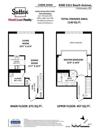 Photo 32: 208 1311 BEACH Avenue in Vancouver: West End VW Condo for sale (Vancouver West)  : MLS®# R2532523