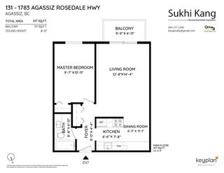 """Photo 22: 131 1783 AGASSIZ-ROSEDALE NO 9 Highway: Agassiz Condo for sale in """"THE NORTHGATE"""" : MLS®# R2576106"""