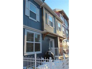 Photo 1: 517 10 AUBURN BAY Avenue SE in Calgary: Auburn Bay Townhouse for sale : MLS®# C3603479