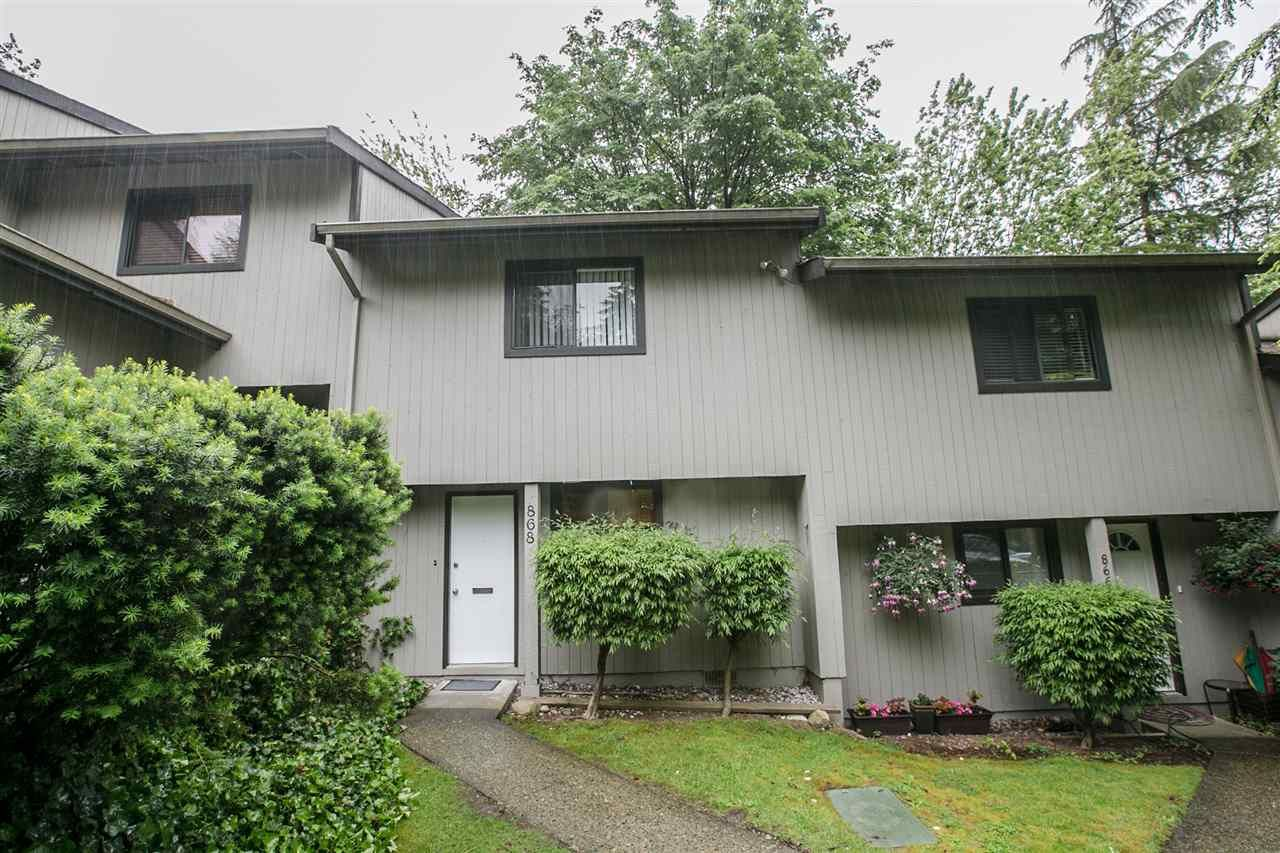 Main Photo: 868 BLACKSTOCK Road in Port Moody: North Shore Pt Moody Townhouse for sale : MLS®# R2176223