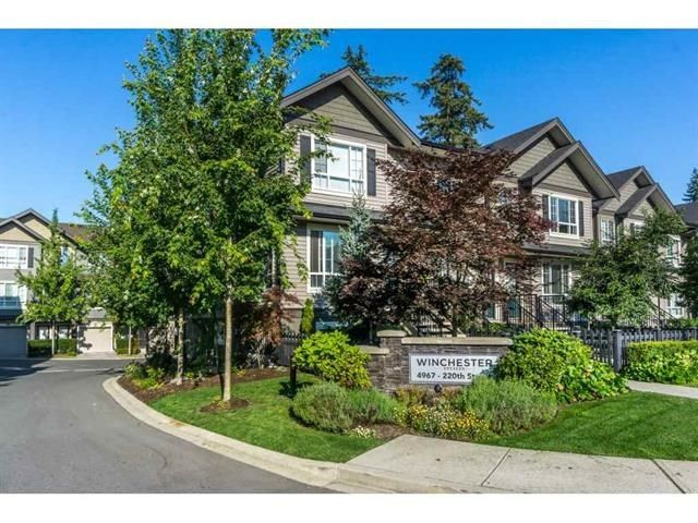 """Main Photo: 40 4967 220 Street in Langley: Murrayville Townhouse for sale in """"Winchester"""" : MLS®# R2393390"""