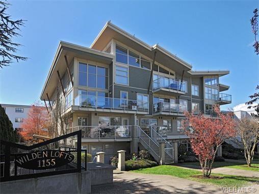 Main Photo: 201 1155 Yates St in VICTORIA: Vi Downtown Condo for sale (Victoria)  : MLS®# 750454