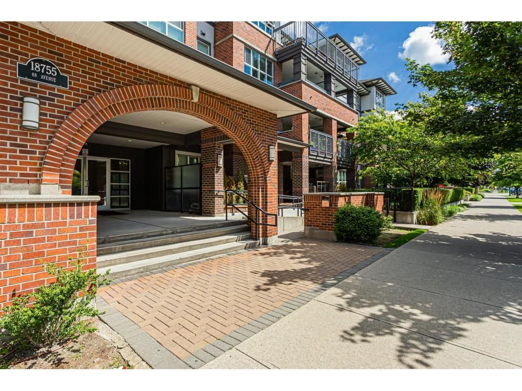 "Main Photo: 102 18755 68 Avenue in Surrey: Clayton Condo for sale in ""Compass"" (Cloverdale)  : MLS®# R2623804"