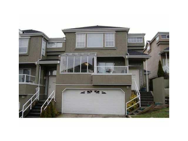 Main Photo: 2391 QUAYSIDE COURT in : South Marine Townhouse for sale (Vancouver East)  : MLS®# V894068