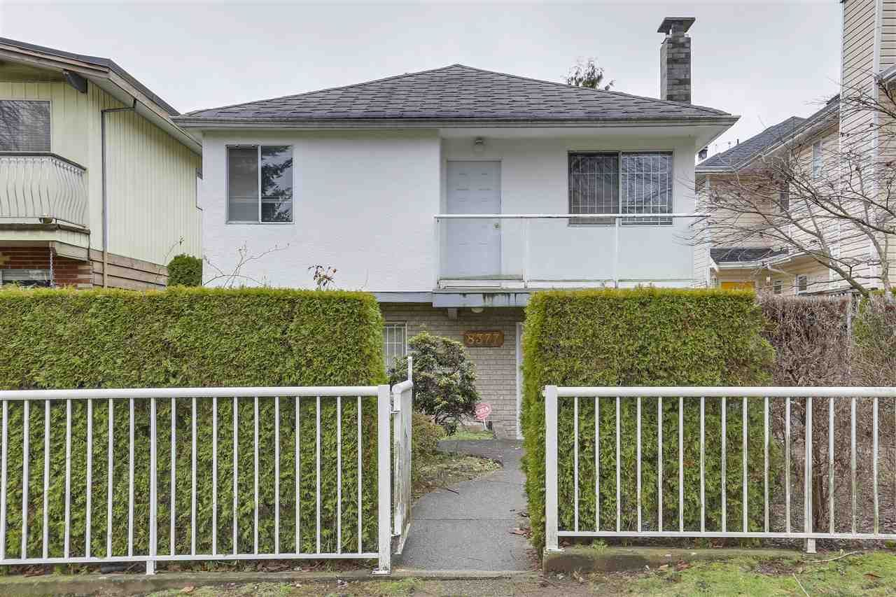 """Main Photo: 8377 LAUREL Street in Vancouver: Marpole House for sale in """"MARPOLE"""" (Vancouver West)  : MLS®# R2239238"""