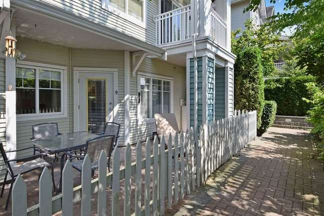 Main Photo: 9 123 SEVENTH STREET in New Westminster: Home for sale : MLS®# R2092803