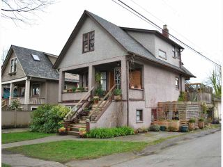 """Photo 1: 3522 WILLOW Street in Vancouver: Cambie House for sale in """"DOUGLAS PARK"""" (Vancouver West)  : MLS®# V816412"""