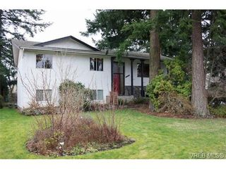 Photo 1: 4169 BRACKEN Ave in VICTORIA: SE Lake Hill House for sale (Saanich East)  : MLS®# 662171
