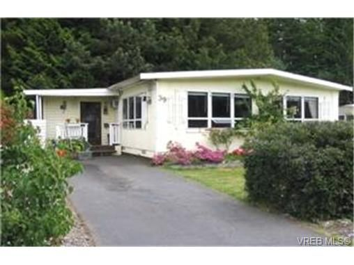 Main Photo: 39 2587 Selwyn Rd in VICTORIA: La Mill Hill Manufactured Home for sale (Langford)  : MLS®# 338359