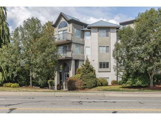 """Photo 1: 308 32725 GEORGE FERGUSON Way in Abbotsford: Abbotsford West Condo for sale in """"Uptown"""" : MLS®# R2611320"""
