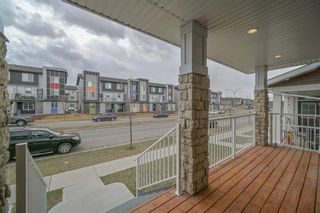Photo 3: 162 REDSTONE Drive in Calgary: Redstone Semi Detached for sale : MLS®# A1102876