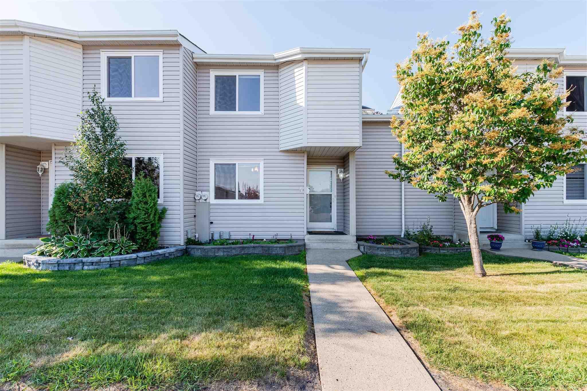 Main Photo: 4 3221 119 Street in Edmonton: Zone 16 Townhouse for sale : MLS®# E4254079