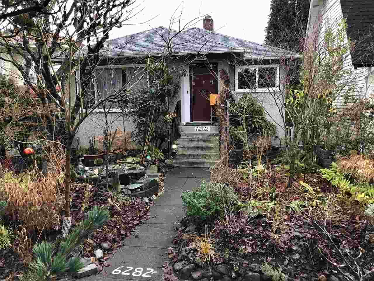 Main Photo: 6282 WINDSOR Street in Vancouver: Fraser VE House for sale (Vancouver East)  : MLS®# R2424639