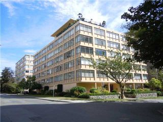"""Photo 1: 411 1975 PENDRELL Street in Vancouver: Downtown VW Condo for sale in """"PARKWOOD MANOR"""" (Vancouver West)  : MLS®# V848532"""