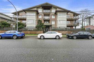 "Photo 1: 207 1988 SUFFOLK Avenue in Port Coquitlam: Glenwood PQ Condo for sale in ""Magnolia Gardens"" : MLS®# R2554495"