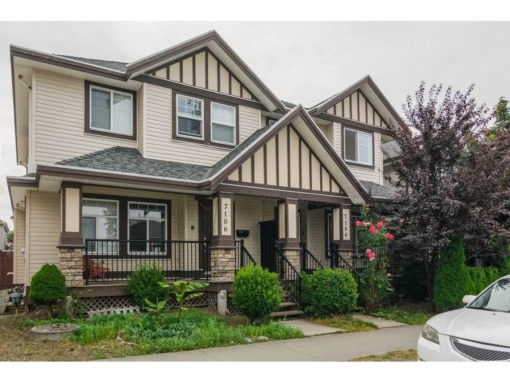 Main Photo: 7104 144 st in surrey: East Newton 1/2 Duplex for sale (Surrey)  : MLS®# R2190548