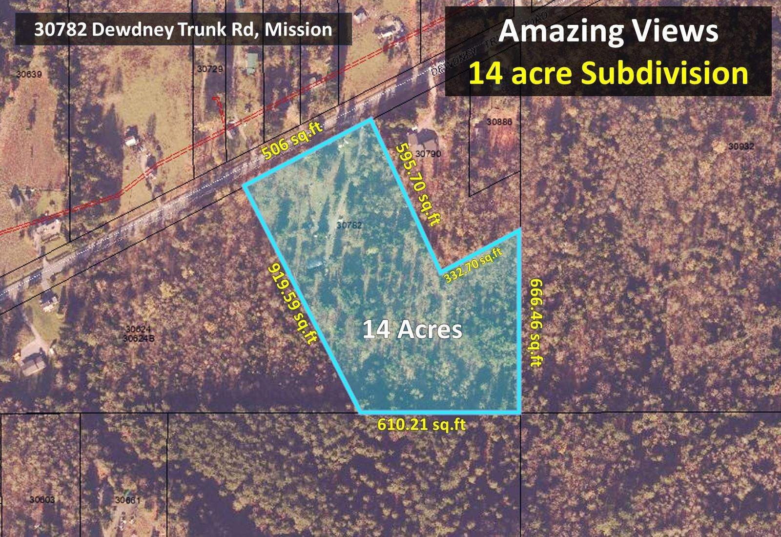 """Photo 3: Photos: 30782 DEWDNEY TRUNK Road in Mission: Stave Falls Land for sale in """"HAYWARD LAKE ESTATES INC."""" : MLS®# R2607109"""