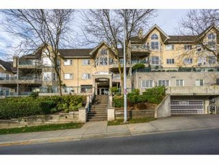 """Photo 1: 207 34101 OLD YALE Road in Abbotsford: Central Abbotsford Condo for sale in """"Yale Terrace"""" : MLS®# R2219162"""