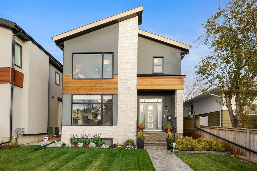 Stunning 2-Storey Home in the charming community of Highland Park.  Exceptional views of Nose Hill from the  2nd floor Master bedroom.