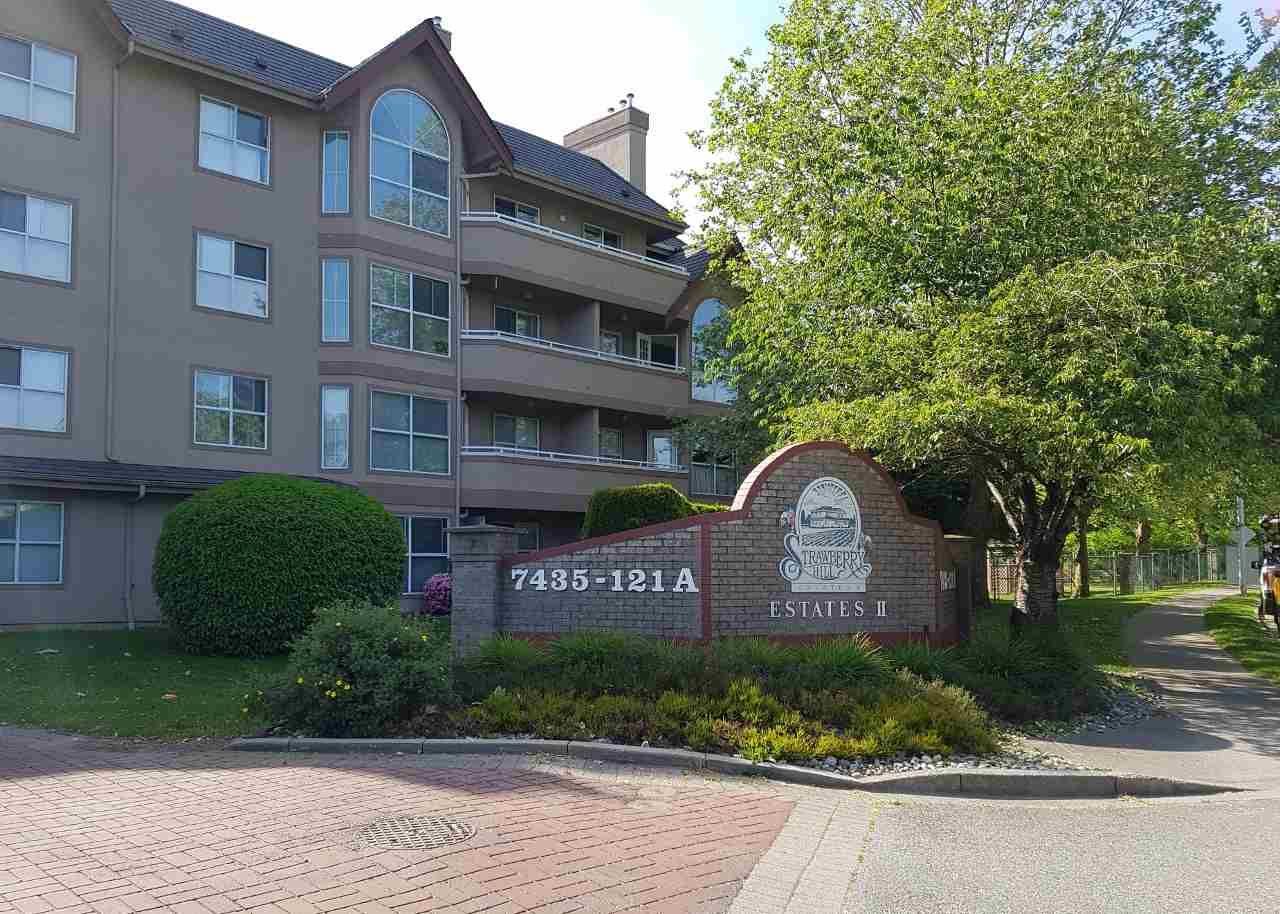 """Main Photo: 202 7435 121A Street in Surrey: West Newton Condo for sale in """"STRAWBERRY HILL ESTATES II"""" : MLS®# R2170697"""