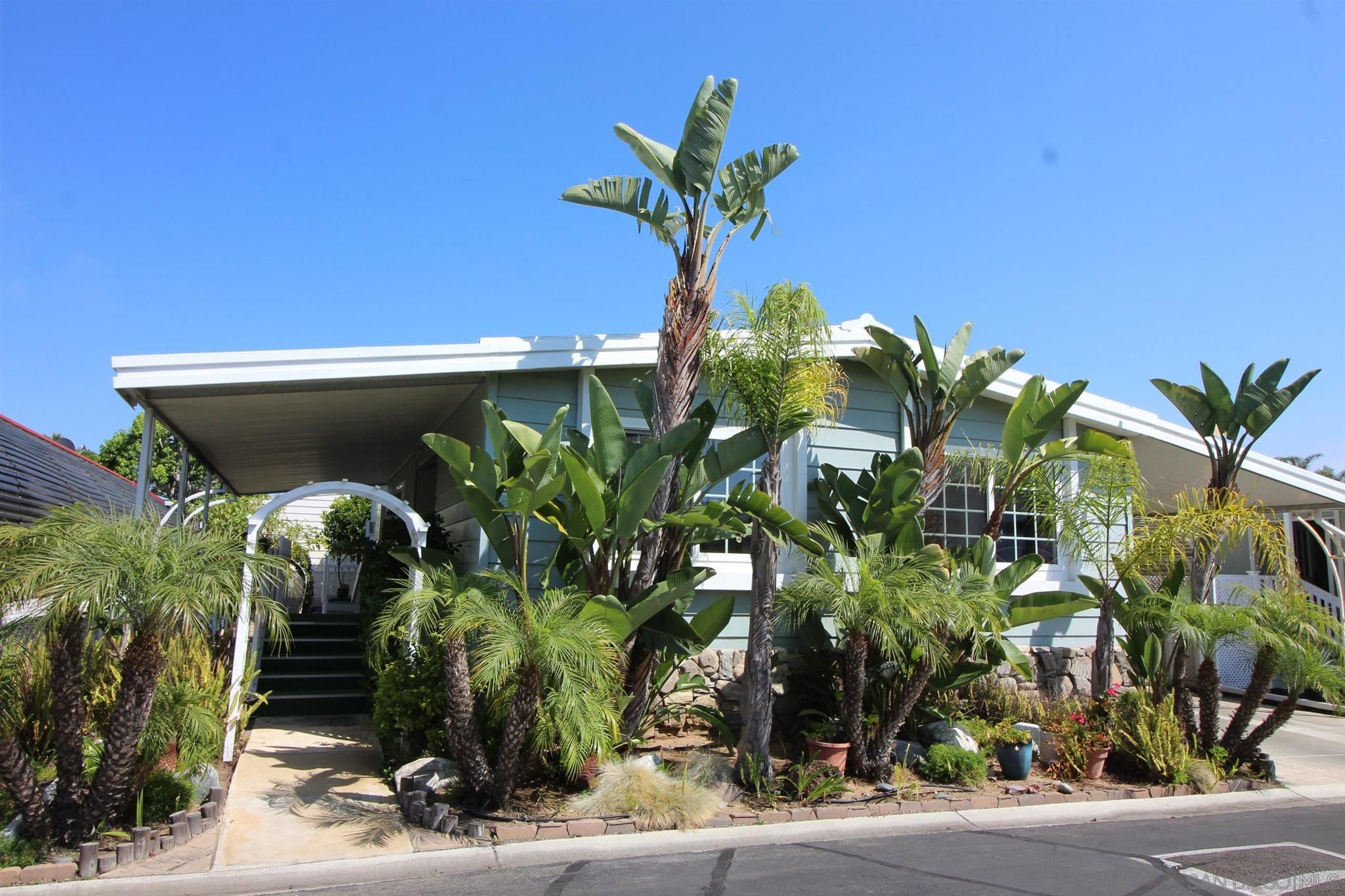 Main Photo: CARLSBAD WEST Manufactured Home for sale : 2 bedrooms : 7220 San Lucas St #188 in Carlsbad