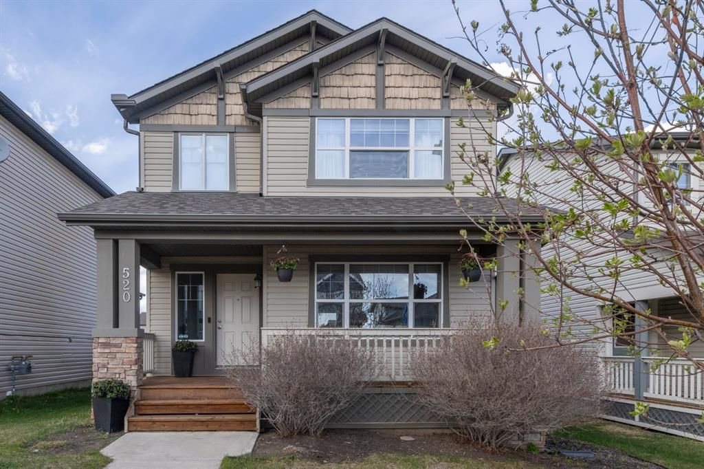 Main Photo: 520 Morningside Park SW: Airdrie Detached for sale : MLS®# A1107226