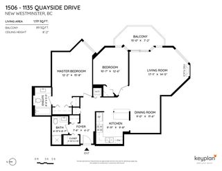 """Photo 27: 1506 1135 QUAYSIDE Drive in New Westminster: Quay Condo for sale in """"ANCHOR POINTE"""" : MLS®# R2565608"""