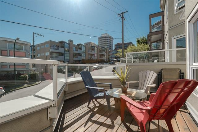 Main Photo: 1210 West 7th in Vancouver: Fairview VW Townhouse for sale (Vancouver West)  : MLS®# R2061226