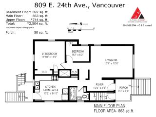 Photo 15: 809 E 24TH Avenue in Vancouver: Fraser VE House for sale (Vancouver East)  : MLS®# R2482539