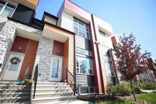 Photo 1: 104 1530 Bayside Avenue SW: Airdrie Row/Townhouse for sale : MLS®# A1147383