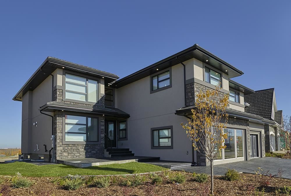 Main Photo: 5112 Woolsey Link in Edmonton: Zone 56 Attached Home for sale : MLS®# E4177425