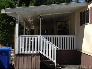Photo 3: 40 3640 Trans Canada Hwy in COBBLE HILL: ML Cobble Hill Manufactured Home for sale (Malahat & Area)  : MLS®# 680701