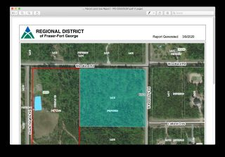 Photo 4: LOT 3 WOODLAND Road in Prince George: Beaverley Land for sale (PG Rural West (Zone 77))  : MLS®# R2453496