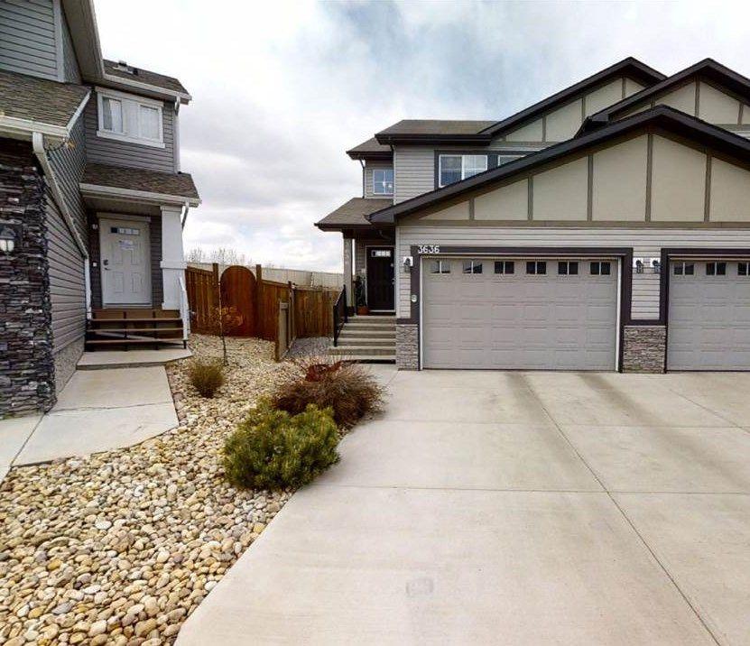 Main Photo: 3636 9 Street in Edmonton: Zone 30 House Half Duplex for sale : MLS®# E4240538