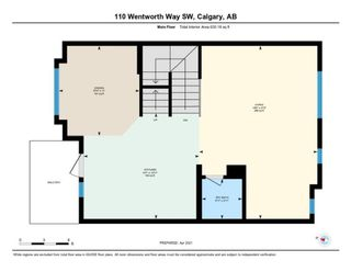Photo 42: 110 Wentworth Row SW in Calgary: West Springs Row/Townhouse for sale : MLS®# A1100774