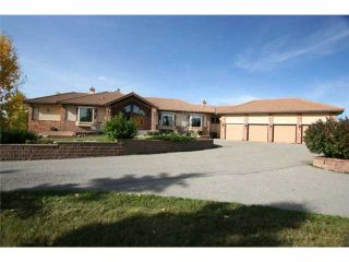 Photo 3: 30084 SPRINGBANK Road in CALGARY: Rural Rocky View MD Residential Detached Single Family for sale : MLS®# C3540703