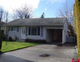 """Photo 1: 1385 129B ST in White Rock: Crescent Bch Ocean Pk. House for sale in """"Ocean Park"""" (South Surrey White Rock)  : MLS®# F2601337"""