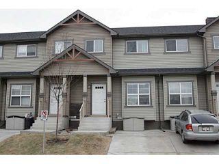 Photo 1: 245 RANCH RIDGE Meadows: Strathmore Townhouse for sale : MLS®# C3615774