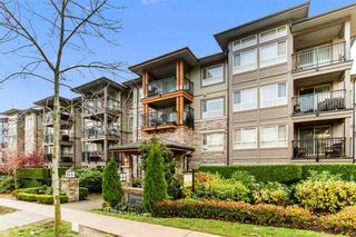 "Photo 1: 316 3156 DAYANEE SPRINGS Boulevard in Coquitlam: Westwood Plateau Condo for sale in ""TAMARACK"" : MLS®# R2455301"