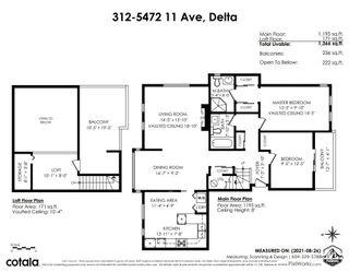 """Photo 33: 312 5472 11 Avenue in Delta: Tsawwassen Central Condo for sale in """"Winskill Place"""" (Tsawwassen)  : MLS®# R2613862"""