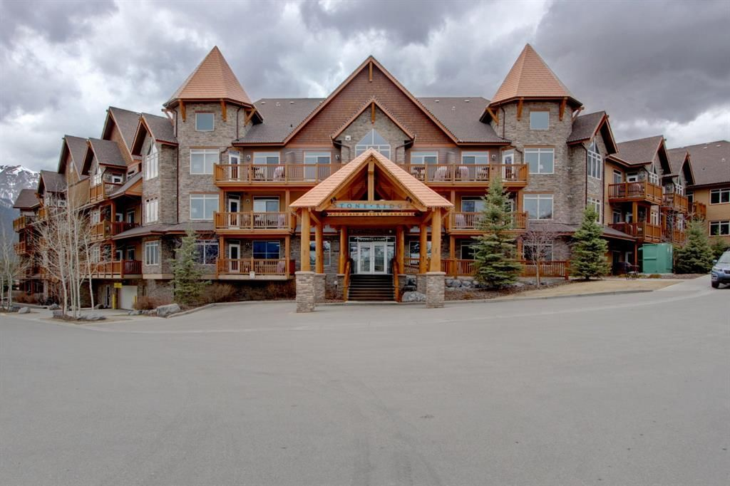 Main Photo: 408 30 Lincoln Park: Canmore Apartment for sale : MLS®# A1034554