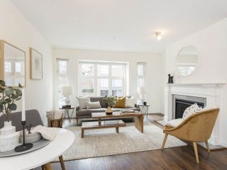 """Photo 6: 735 W 7TH Avenue in Vancouver: Fairview VW Townhouse for sale in """"The Fountains"""" (Vancouver West)  : MLS®# R2544086"""