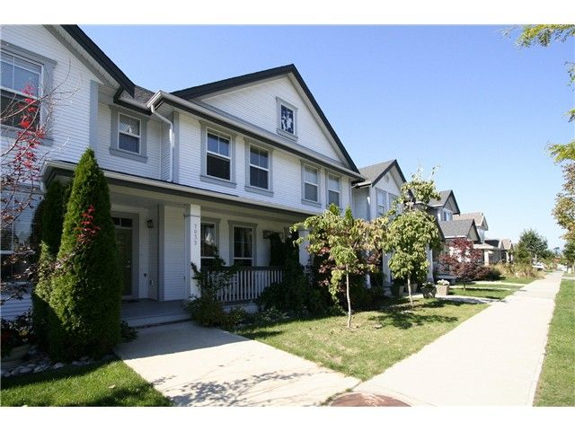 """Main Photo: 7035 180TH Street in Surrey: Cloverdale BC Townhouse for sale in """"Terraces at Provinceton"""" (Cloverdale)  : MLS®# F1321637"""