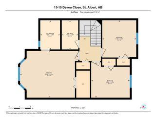 Photo 44: 15, 10 Devon Close: St. Albert Townhouse for sale : MLS®# E4249775